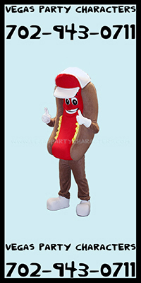 Hot Dog Mascot Character Costume